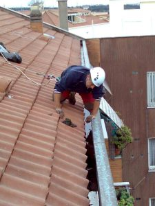 Reparación urgente goteras Leganés